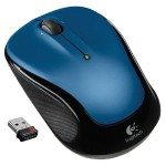 M325 Wireless 2.4GHz Optical Mouse - Blue