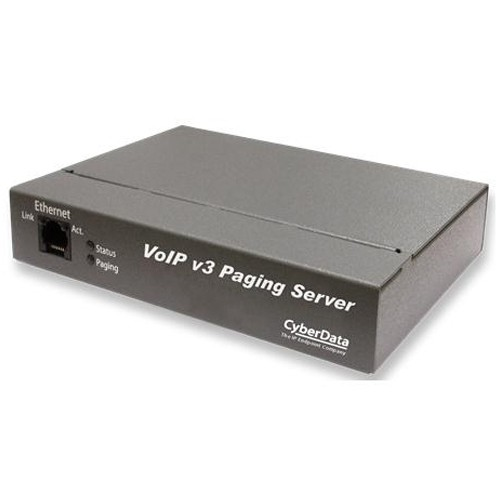 Cyberdata Systems VOIP V3 PAGING SERVER REPLACES