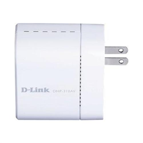 D-Link PowerLine DHP-311AV - Starter Kit - bridge - wall-pluggable
