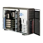Supermicro SC747 TQ-R1620B - Tower - 4U - extended ATX - SATA/SAS - hot-swap 1620 Watt - dark gray - USB