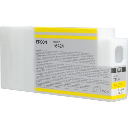 Epson T642400 150 ml Yellow Ultrachrome HDR Ink Cartridge
