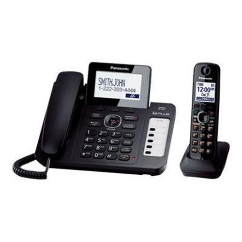 Panasonic KX TG9471B - cordless phone - answering system with caller ID/call waiting + additional handset