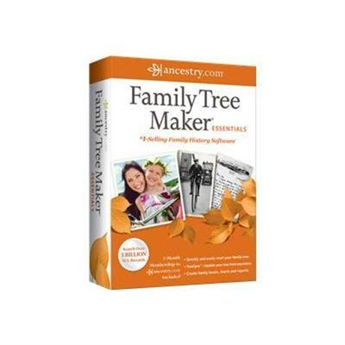 Nova Development Family Tree Maker 2012 Essentials - box pack