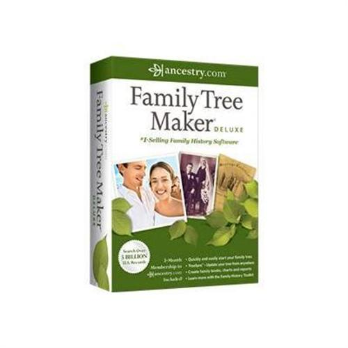 Nova Development Family Tree Maker 2012 Deluxe - box pack