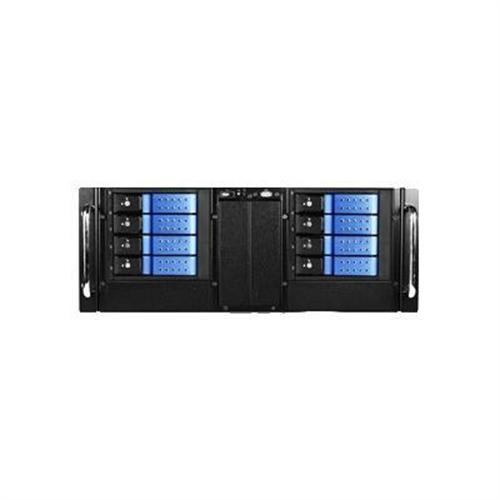 iStarUSA 4U Compact Stylish Rackmount Chassis with Trayless Hotswappable Drive Cages