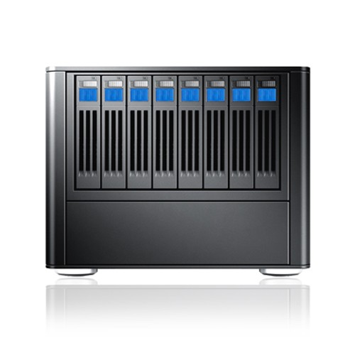 "Sans Digital MobileSTOR MS28X 2.5"" 8 bay SAS/SATA to 2 mini-SAS Enclosure"