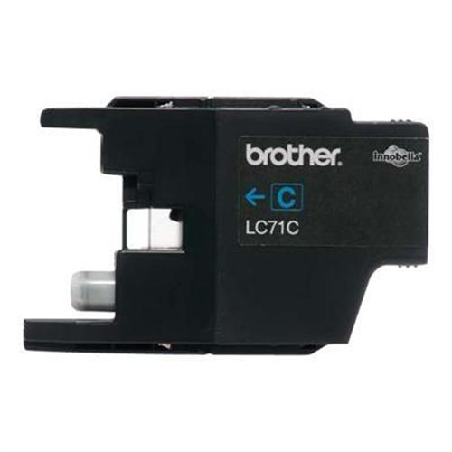 Brother LC71C - cyan - original - ink cartridge