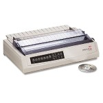 Microline 391 Turbo - Printer - monochrome - dot-matrix - 360 dpi - 24 pin - up to 390 char/sec - parallel, USB - beige