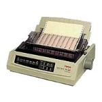 Oki Microline 391 Turbo - Printer - monochrome - dot-matrix - 360 dpi - 24 pin - up to 390 char/sec - parallel 62412002