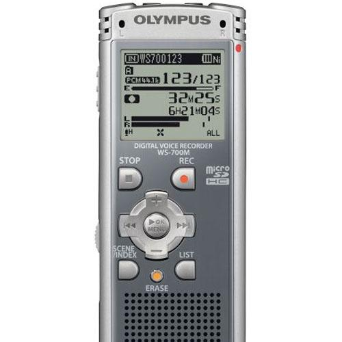 Olympus 4GB Digital Voice Recorder - Gray - Refurbished