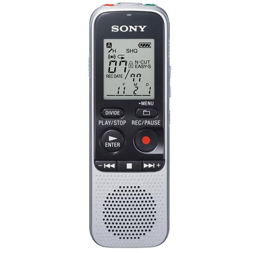 Sony ICD-BX112 - Digital voice recorder - flash 2 GB - MP3 - Refurbished