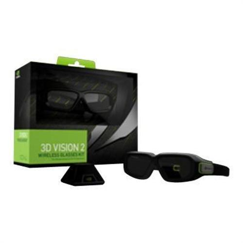 NVIDIA GeForce 3D Vision 2 Wireless Glasses Kit - 3D glasses