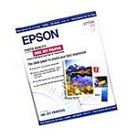 "Epson 8.5"" x 11"" High Quality Inkjet Paper - 100 Sheets S041111"