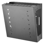 Universal Gaming Console Mount GC-UNV - Wall mount for TV / game console - steel - matte black - screen size: up to 42""