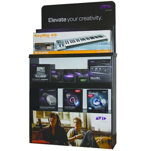 Avid Elevate Pop Display Stand 9392-650