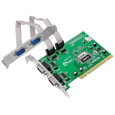 SIIGCyberSerial 4-port PCI Express Serial Adapter(JJ-P49012-S7)