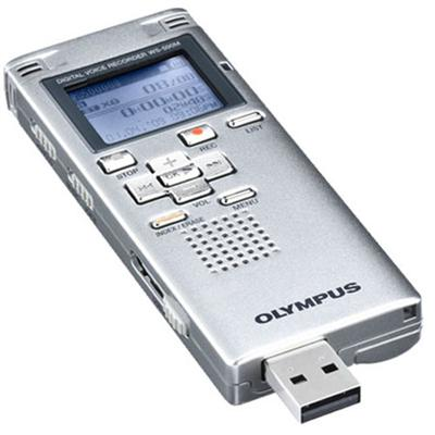 Olympus Digital Voice Recorder - Silver - Refurbished (WS500M-REF)