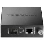 TFC-1000MGA - Fiber media converter - Ethernet, Fast Ethernet, Gigabit Ethernet - 10Base-T, 100Base-TX, 1000Base-T - RJ-45 / SFP (mini-GBIC) - for  TFC-1600MM