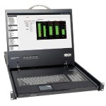 TrippLite 1U Rack-Mount Console with 19-in. LCD B021-000-17