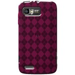 AMZER HOT PINK LUXE ARGYLE TPU
