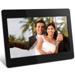 "Aluratek ADMPF114F - Digital photo frame - flash 512 MB - 14"" - 1366 x 768 - black ADMPF114F"
