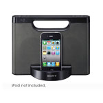 Sony Portable Speaker for iPod and iPhone - Refurbished RDPM5IPBLK-REF