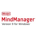 MindManager for Windows - ( v. 9 ) - license - 1 user - volume, GOV - 100-249 licenses - ESD - Win