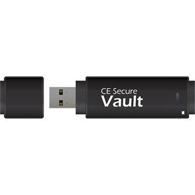 CMS Products 32GB CE Secure Vault - USB Flash Drive - USB (CE-VAULT-32G)