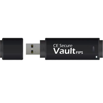 CMS Products 4GB CE Secure Vault FIPS - USB Flash Drive - USB (CE-VAULTFIPS-4G)