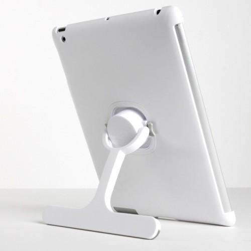 The Joy Factory Klick Kick Stand for iPad 2 (360 Rotation and Detachable, Smart Cover Compatible Case)