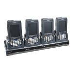 FlexDock Quad Dock with Ethernet - Docking cradle - Ethernet - North America - for  CN3, CN3e, CN4, CN4e