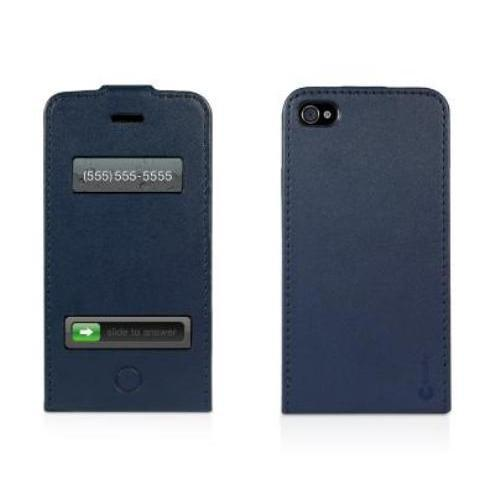 MacAlly Peripherals LEATHER CASE FOR IPHONE 4S/4