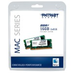 Patriot Memory Mac Series - 16GB (2 x 8GB) PC3-10600 (1333MHz) SODIMM Kit PSA316G1333SK