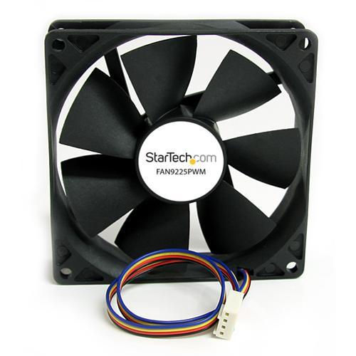 StarTech 92x25mm Computer Case Fan with PWM – Pulse Width Modulation Connector