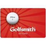 $25 Golfsmith Gift Card