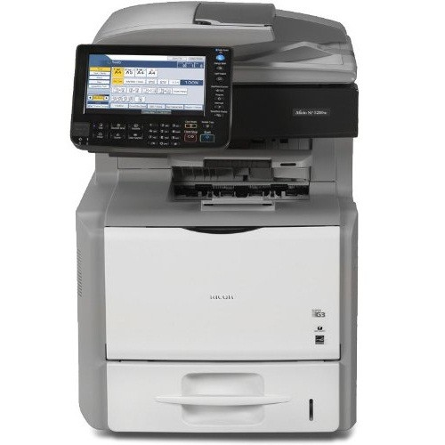 Ricoh Aficio SP 5210SF Monochrome Laser Multifunction Printer.