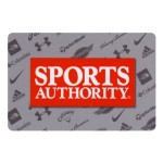 National Gift Card $10 Sports Authority Gift Card $10 SPORTS AUTHORITY