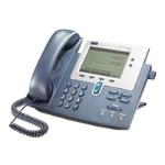 Cisco IP Phone 7940G - VoIP phone - H.323, MGCP, SCCP, SIP - silver, dark gray - refurbished CP-7940G-RF