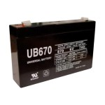 Premium Power Products UB670 - UPS battery - 1 x lead acid 7 Ah - for APC PowerStack 250VA, 450VA