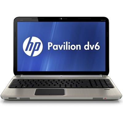 HP Pavilion dv6-6120us Intel Core i3-2310M 2.10GHz Entertainment Notebook - 4GB RAM, 640GB HDD, 15.6