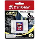 Ultimate - Flash memory card - 8 GB - UHS Class 1 / Class10 - 133x - SDHC UHS-I