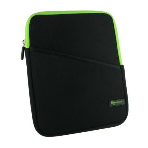 GoDirect ROOCASE Super Bubble Sleeve for iPad / Tablet - Neon Green