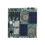 SUPERMICRO H8DG6-F - Motherboard - extended ATX - Socket G34 - 2 CPUs supported - AMD SR5690/SP5100 - 2 x Gigabit LAN - onboard graphics