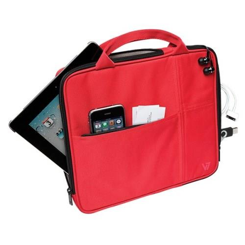 V7 Attache Slim Case fits All iPads - Red