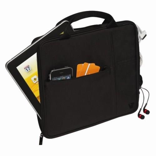 V7 Attache Slim Case fits All iPads - Black