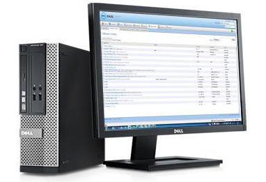 Dell OptiPlex 390 - SFF - 1 x Core i5 2400 / 3 1 GHz - RAM 4 GB - HDD 500  GB - DVD-Writer - Radeon HD 6350 - GigE - Win 7 Pro 64-bit - monitor: none  -
