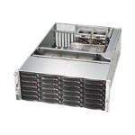 Supermicro SC846 BA-R920B - Rack-mountable - 4U - extended ATX - SATA/SAS - hot-swap 920 Watt - black