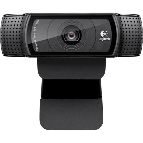 Logitech C920 HD Pro Webcam, 1080p Widescreen Video Calling and Recording