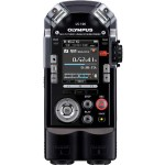 LS-100 - Voice recorder - 4 GB - display: 2 in - black