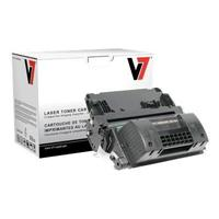 V7 Ultra High Yield - black - remanufactured - toner cartridge ( equivalent to: HP 64A ) - for HP LaserJet P4014, P4015, P4515 THK2364JX
